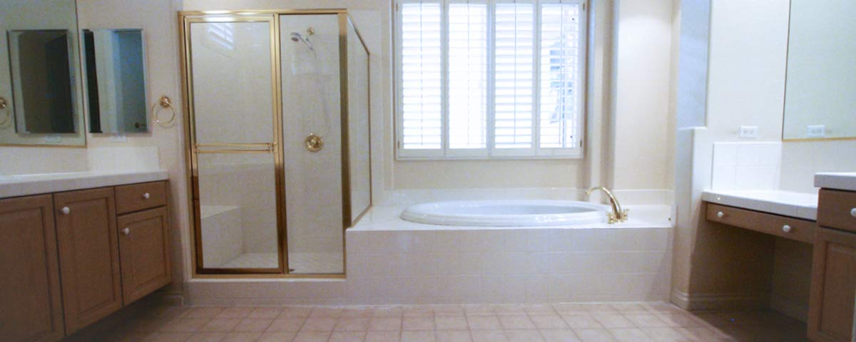Large Customized Bathroom Renovations In Vegas Master Bath Remodel ...