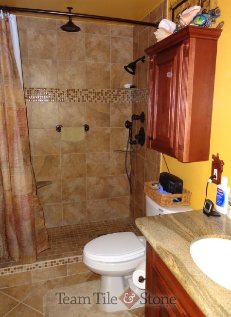 Master Bath Remodel Before And After Renovation