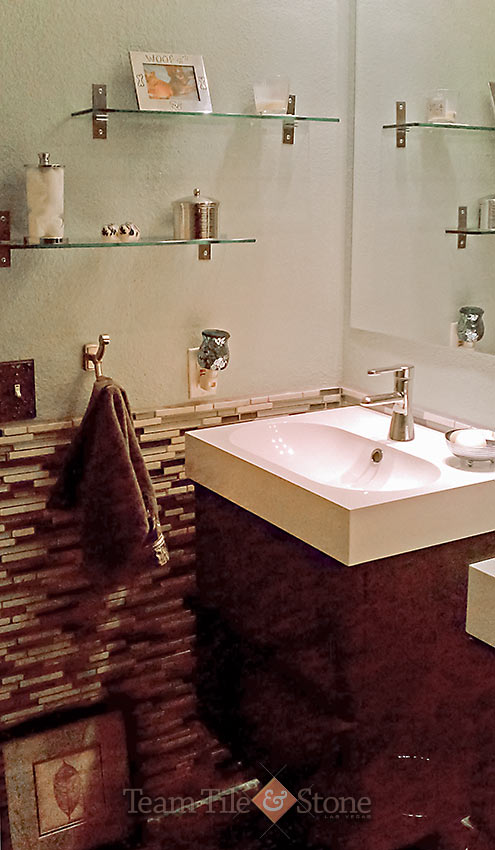 Las vegas bathroom remodel masterbath renovations walk in shower tubs - Bathroom cabinets las vegas ...